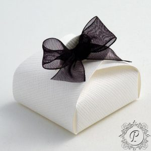 White Astuccio Wedding Favour Box