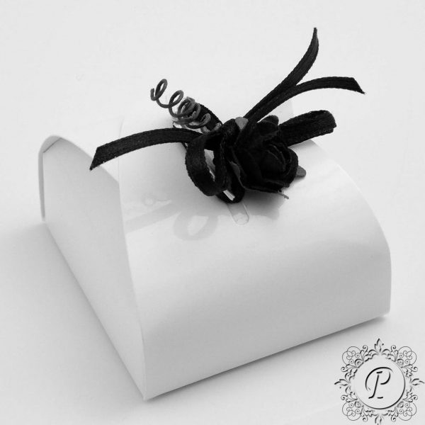 White Gloss Astuccio wedding Favour