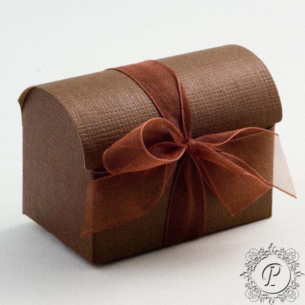Coffee Ballotin Chest Wedding Favour Box