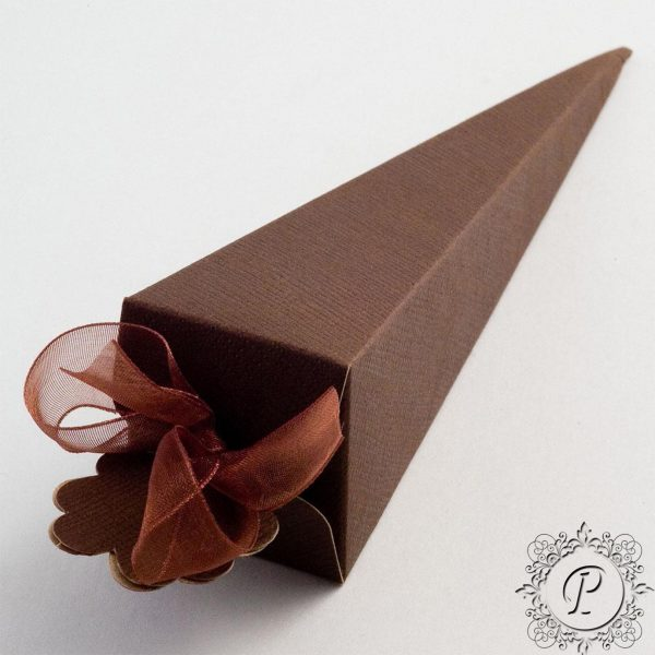 Coffee Confetti Cone Wedding Favour