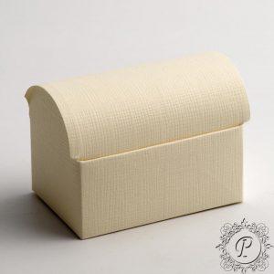 Ivory Ballotin Chest Wedding Favour Box