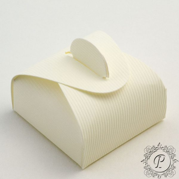 Ivory Scia Astuccio Wedding Favour Box