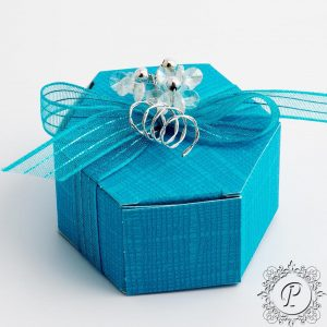 Turqoise Astuccio Wedding Favour