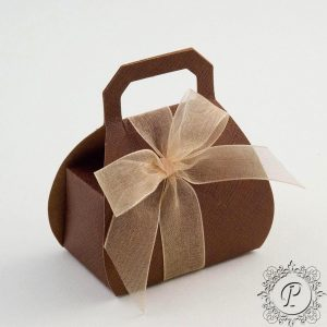 Coffee Handbag Wedding Favour Box