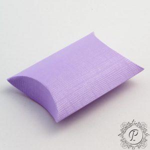 Lilac Pillow Bustina Wedding Favour Box