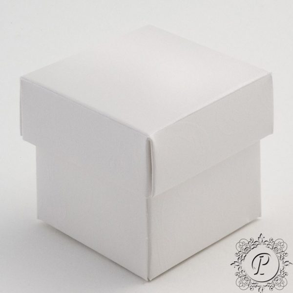 Pearla Cube Corpercio Wedding Favour Box