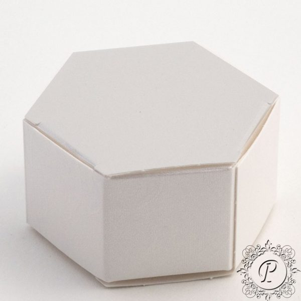 Pearla Hex Astuccio Weddiing Favour Box