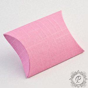 Pink Pillow Bustina Wedding Favour Box