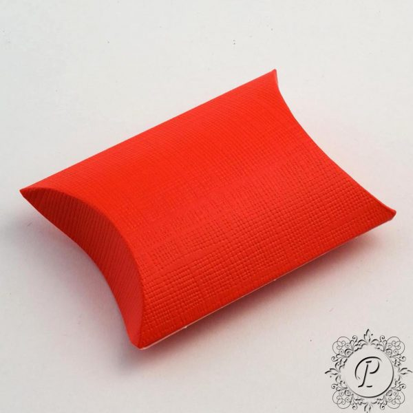 Red Pillow Bustina Wedding Favour Box