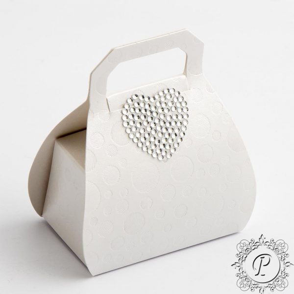 Sphere Pearla Handbag Wedding Favour Box
